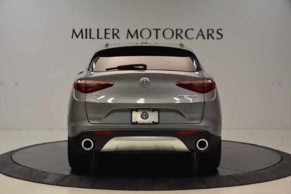 New 2018 Alfa Romeo Stelvio Ti Sport Q4 for sale Sold at Bugatti of Greenwich in Greenwich CT 06830 6