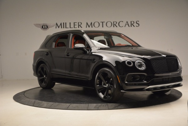 New 2018 Bentley Bentayga Black Edition for sale Sold at Bugatti of Greenwich in Greenwich CT 06830 11