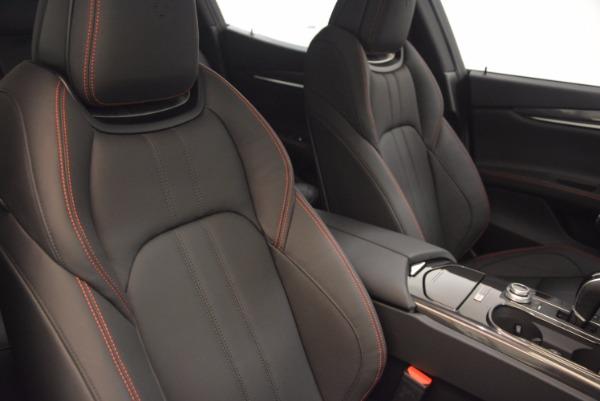 New 2017 Maserati Ghibli Nerissimo Edition S Q4 for sale Sold at Bugatti of Greenwich in Greenwich CT 06830 22