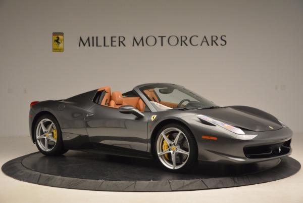 Used 2015 Ferrari 458 Spider for sale Sold at Bugatti of Greenwich in Greenwich CT 06830 10