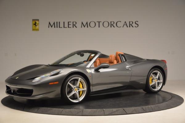 Used 2015 Ferrari 458 Spider for sale Sold at Bugatti of Greenwich in Greenwich CT 06830 2