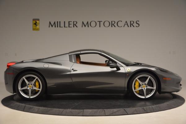 Used 2015 Ferrari 458 Spider for sale Sold at Bugatti of Greenwich in Greenwich CT 06830 21