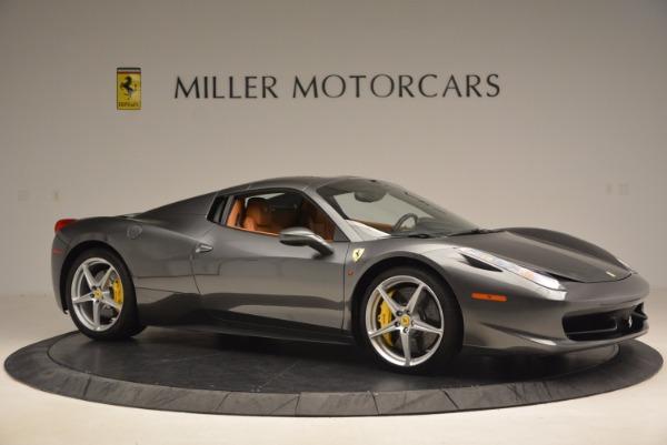 Used 2015 Ferrari 458 Spider for sale Sold at Bugatti of Greenwich in Greenwich CT 06830 22