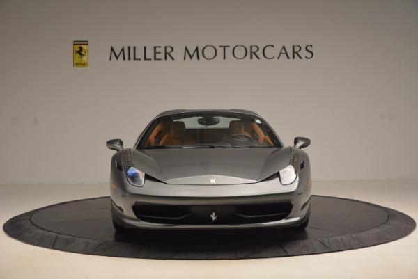 Used 2015 Ferrari 458 Spider for sale Sold at Bugatti of Greenwich in Greenwich CT 06830 24