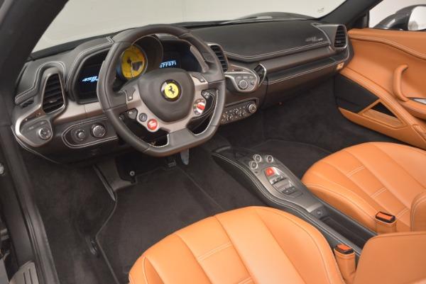 Used 2015 Ferrari 458 Spider for sale Sold at Bugatti of Greenwich in Greenwich CT 06830 25