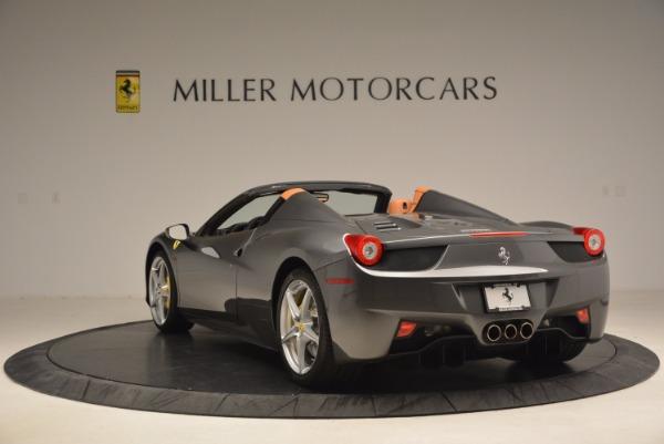 Used 2015 Ferrari 458 Spider for sale Sold at Bugatti of Greenwich in Greenwich CT 06830 5