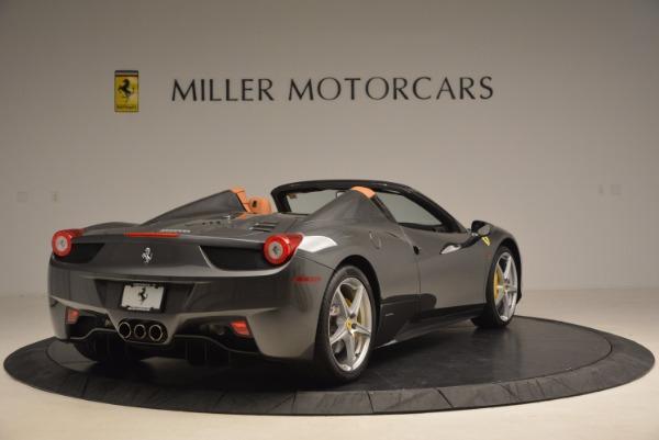 Used 2015 Ferrari 458 Spider for sale Sold at Bugatti of Greenwich in Greenwich CT 06830 7