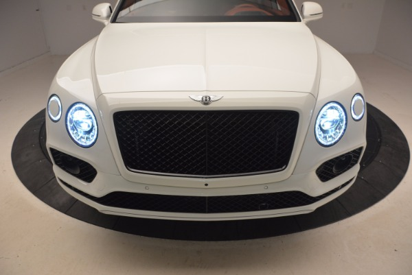 New 2018 Bentley Bentayga Onyx for sale Sold at Bugatti of Greenwich in Greenwich CT 06830 15