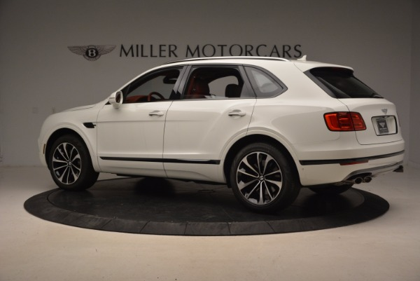 New 2018 Bentley Bentayga Onyx for sale Sold at Bugatti of Greenwich in Greenwich CT 06830 4