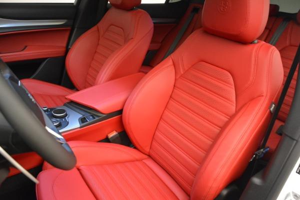 New 2018 Alfa Romeo Stelvio Ti Sport Q4 for sale Sold at Bugatti of Greenwich in Greenwich CT 06830 15