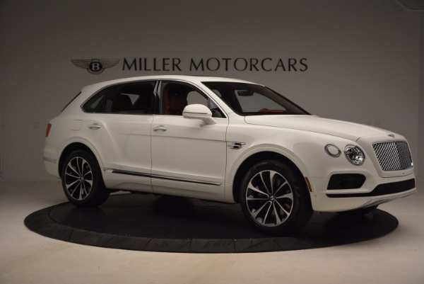 New 2018 Bentley Bentayga Onyx Edition for sale Sold at Bugatti of Greenwich in Greenwich CT 06830 10