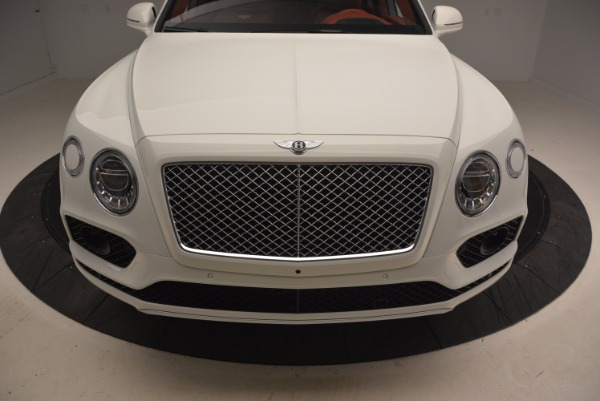 New 2018 Bentley Bentayga Onyx Edition for sale Sold at Bugatti of Greenwich in Greenwich CT 06830 13