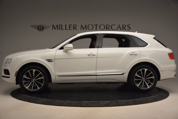 New 2018 Bentley Bentayga Onyx Edition for sale Sold at Bugatti of Greenwich in Greenwich CT 06830 3