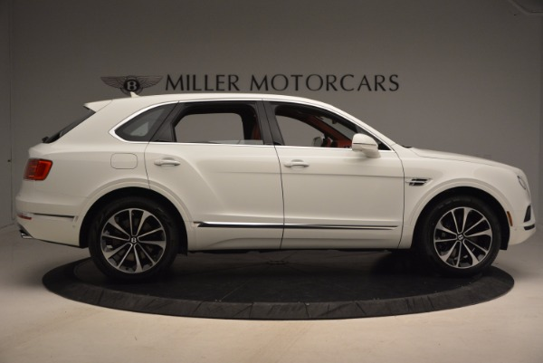 New 2018 Bentley Bentayga Onyx Edition for sale Sold at Bugatti of Greenwich in Greenwich CT 06830 9