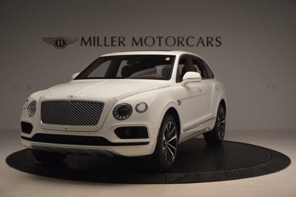 New 2018 Bentley Bentayga Onyx Edition for sale Sold at Bugatti of Greenwich in Greenwich CT 06830 1