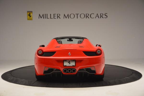 Used 2014 Ferrari 458 Spider for sale Sold at Bugatti of Greenwich in Greenwich CT 06830 6