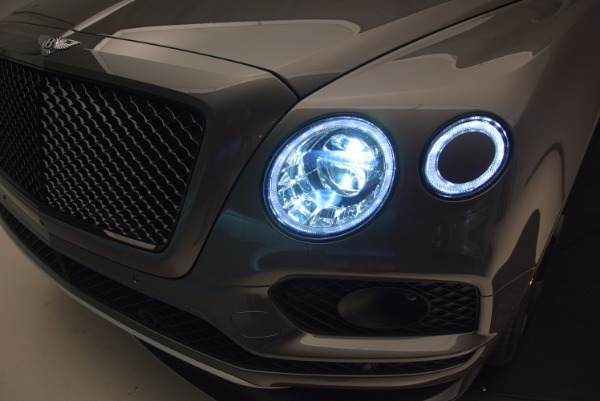New 2018 Bentley Bentayga Black Edition for sale Sold at Bugatti of Greenwich in Greenwich CT 06830 18