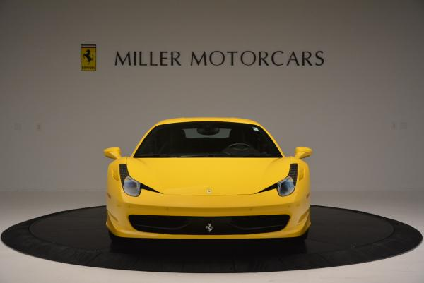 Used 2011 Ferrari 458 Italia for sale Sold at Bugatti of Greenwich in Greenwich CT 06830 12