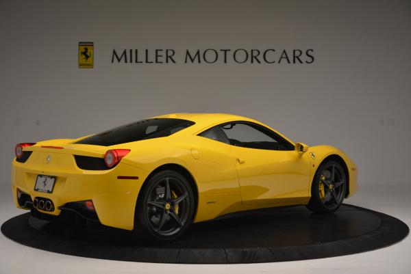 Used 2011 Ferrari 458 Italia for sale Sold at Bugatti of Greenwich in Greenwich CT 06830 8
