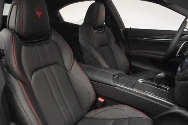 New 2017 Maserati Ghibli SQ4 for sale Sold at Bugatti of Greenwich in Greenwich CT 06830 17