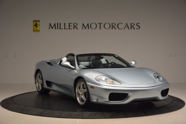 Used 2003 Ferrari 360 Spider 6-Speed Manual for sale Sold at Bugatti of Greenwich in Greenwich CT 06830 11