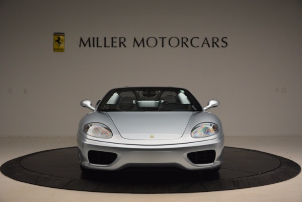 Used 2003 Ferrari 360 Spider 6-Speed Manual for sale Sold at Bugatti of Greenwich in Greenwich CT 06830 12