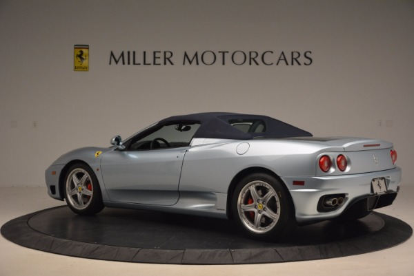 Used 2003 Ferrari 360 Spider 6-Speed Manual for sale Sold at Bugatti of Greenwich in Greenwich CT 06830 16