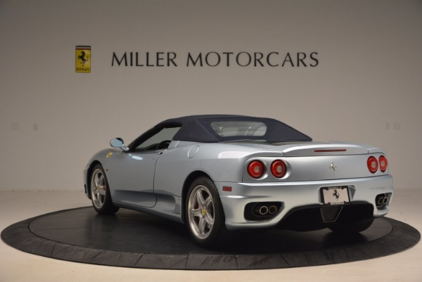 Used 2003 Ferrari 360 Spider 6-Speed Manual for sale Sold at Bugatti of Greenwich in Greenwich CT 06830 17