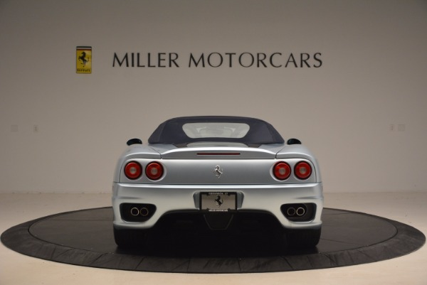 Used 2003 Ferrari 360 Spider 6-Speed Manual for sale Sold at Bugatti of Greenwich in Greenwich CT 06830 18
