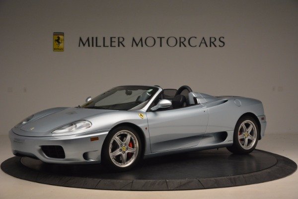 Used 2003 Ferrari 360 Spider 6-Speed Manual for sale Sold at Bugatti of Greenwich in Greenwich CT 06830 2