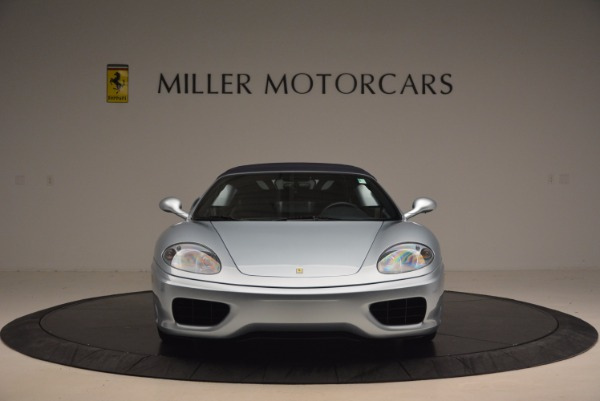 Used 2003 Ferrari 360 Spider 6-Speed Manual for sale Sold at Bugatti of Greenwich in Greenwich CT 06830 24
