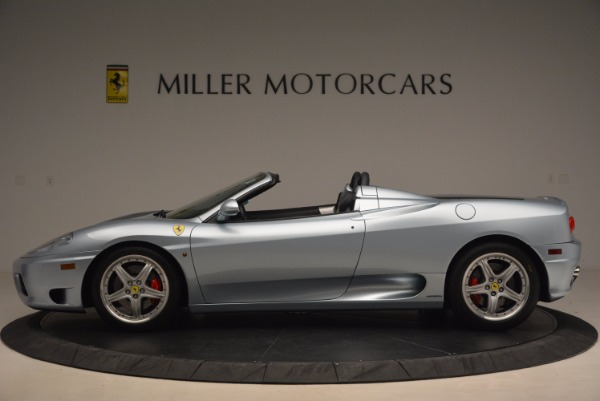 Used 2003 Ferrari 360 Spider 6-Speed Manual for sale Sold at Bugatti of Greenwich in Greenwich CT 06830 3