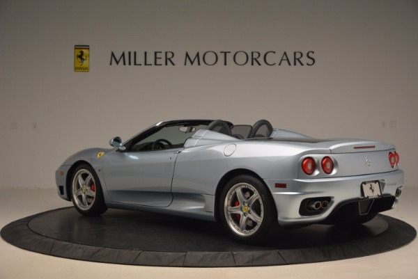 Used 2003 Ferrari 360 Spider 6-Speed Manual for sale Sold at Bugatti of Greenwich in Greenwich CT 06830 4