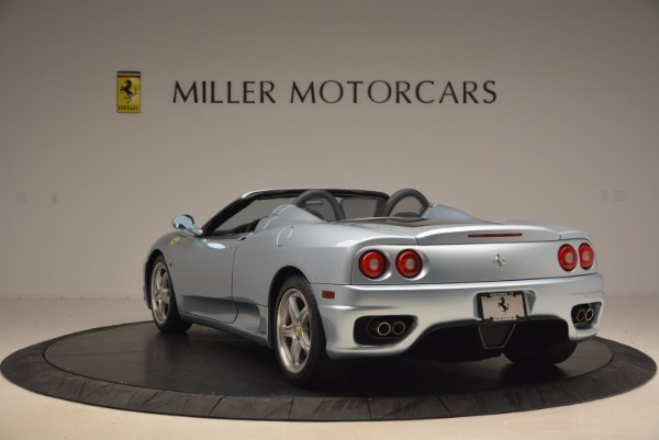 Used 2003 Ferrari 360 Spider 6-Speed Manual for sale Sold at Bugatti of Greenwich in Greenwich CT 06830 5