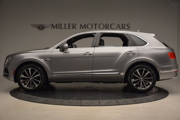 New 2018 Bentley Bentayga Onyx for sale Sold at Bugatti of Greenwich in Greenwich CT 06830 3