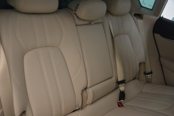 Used 2017 Maserati Levante S for sale Sold at Bugatti of Greenwich in Greenwich CT 06830 24