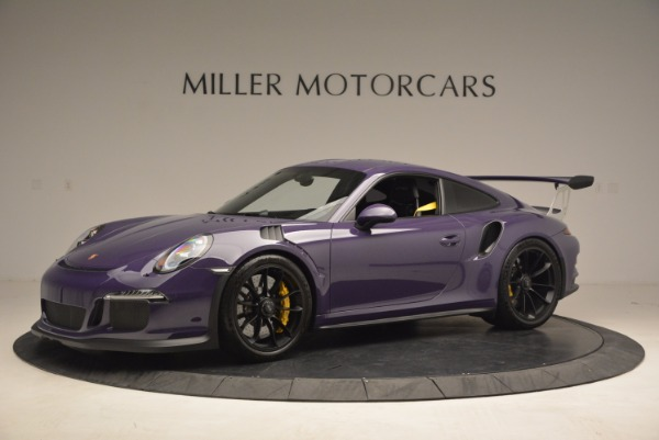 Used 2016 Porsche 911 GT3 RS for sale Sold at Bugatti of Greenwich in Greenwich CT 06830 2