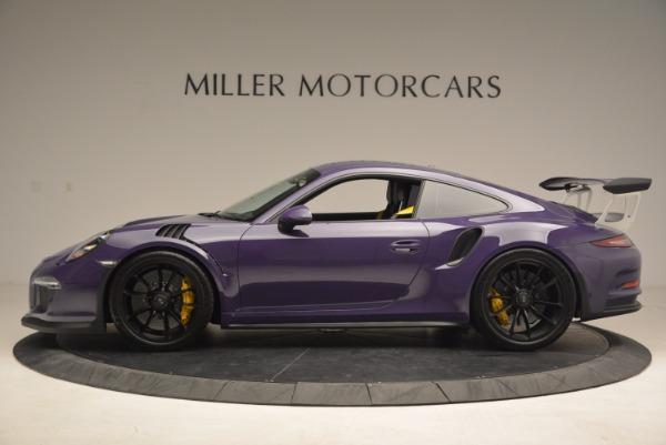 Used 2016 Porsche 911 GT3 RS for sale Sold at Bugatti of Greenwich in Greenwich CT 06830 3