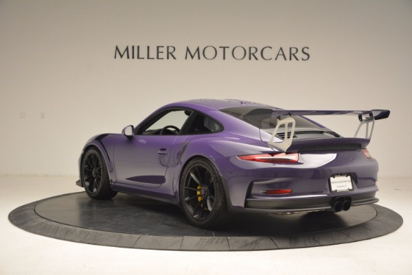 Used 2016 Porsche 911 GT3 RS for sale Sold at Bugatti of Greenwich in Greenwich CT 06830 5