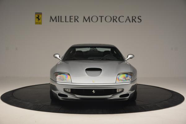 Used 1997 Ferrari 550 Maranello for sale Sold at Bugatti of Greenwich in Greenwich CT 06830 12
