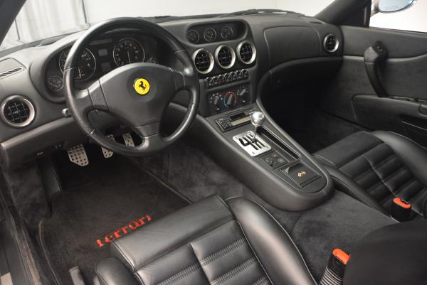 Used 1997 Ferrari 550 Maranello for sale Sold at Bugatti of Greenwich in Greenwich CT 06830 13