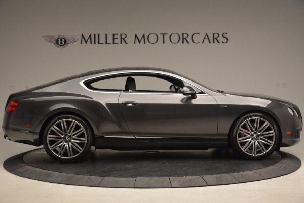 Used 2014 Bentley Continental GT Speed for sale Sold at Bugatti of Greenwich in Greenwich CT 06830 9
