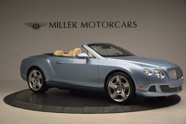 Used 2012 Bentley Continental GTC W12 for sale Sold at Bugatti of Greenwich in Greenwich CT 06830 10