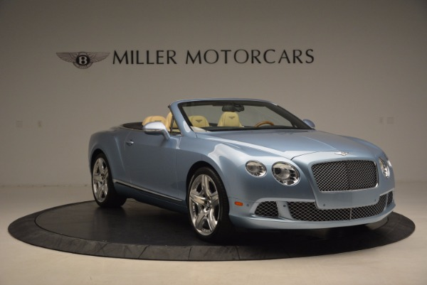 Used 2012 Bentley Continental GTC W12 for sale Sold at Bugatti of Greenwich in Greenwich CT 06830 11