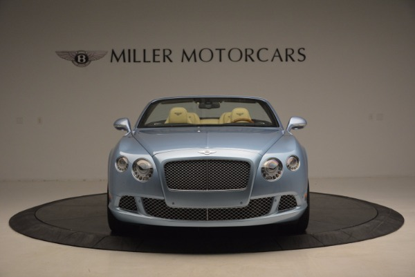 Used 2012 Bentley Continental GTC W12 for sale Sold at Bugatti of Greenwich in Greenwich CT 06830 12