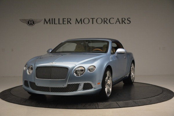 Used 2012 Bentley Continental GTC W12 for sale Sold at Bugatti of Greenwich in Greenwich CT 06830 13