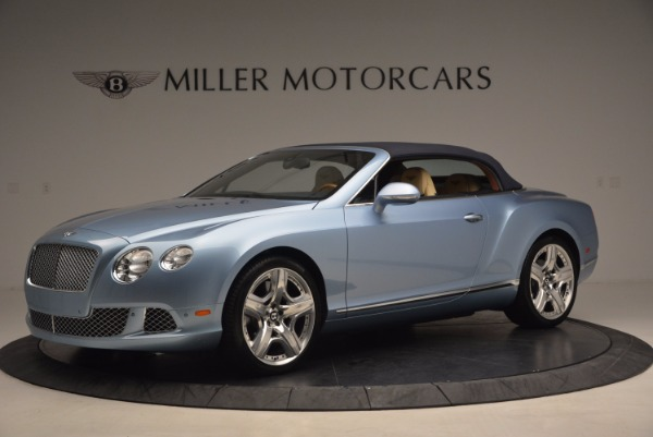Used 2012 Bentley Continental GTC W12 for sale Sold at Bugatti of Greenwich in Greenwich CT 06830 14