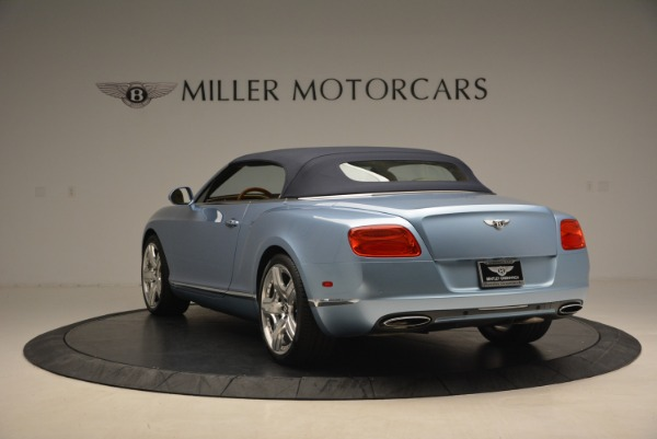 Used 2012 Bentley Continental GTC W12 for sale Sold at Bugatti of Greenwich in Greenwich CT 06830 17