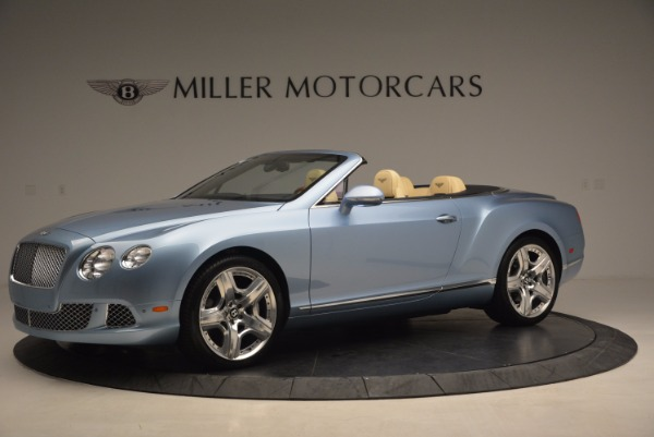 Used 2012 Bentley Continental GTC W12 for sale Sold at Bugatti of Greenwich in Greenwich CT 06830 2