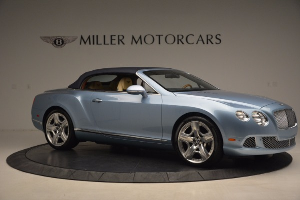 Used 2012 Bentley Continental GTC W12 for sale Sold at Bugatti of Greenwich in Greenwich CT 06830 22